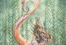 Sereias / desenhos de sereias para se inspirar