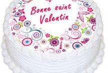 Offrez-lui un gâteau pour la Saint Valentin ! / saint valentin, cake design, habillage gâteau