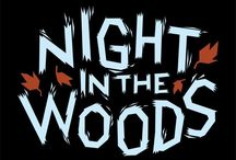 Night in the Woods / AT THE END OF EVERYTHING • HOLD ONTO ANYTHING