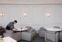 Neo classic restaurant