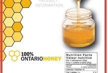 Ετικέτες για μέλι / ετικέτες για βάζα μελιού