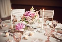 wedding tablescapes / by Sharon's Bridal