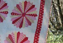 Folk Heart by Rosalie Quinlan / I love Rosie's beautiful new fabric range.