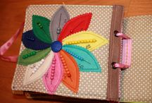 Quiet book pages