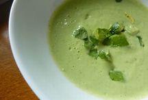 Zöldséges ételek, levesek