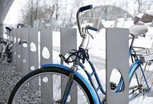 Kerékpár támaszok