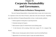 Corporate Sustainability / Article by Hank Moore