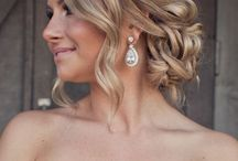 Bridesmaid/bride hair and dresses for mama  / by Alli DiVicino