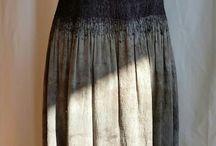Felted dresses