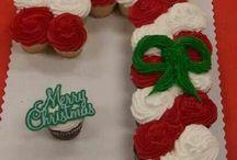 christmas cupcake bouquet/ideas