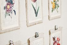 Botanical prints Home decor