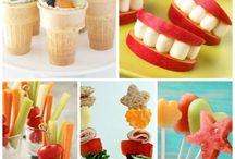 Sunne snacks til barn