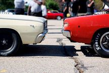 """Talk about a """"cat fight."""" #RoadKillNights - photo from dodgeofficial"""