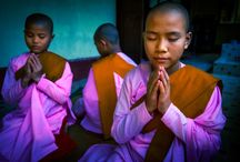 David Kirkland Photography - Myanmar / This images is from our Myanmar photoshoot of Budhist students ata monestry.
