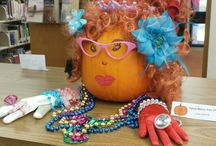 Literary Pumpkin Decorating Contest / Cast your vote by liking the image of your favorite decorated pumpkin.