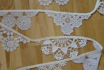 Home stuff in lace and burlap