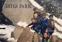 Estes Park Fall / Come explore Estes Park in the fall and take in the vibrant fall foliage across the mountain ranges!