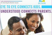 "Eye To Eye Connects Kids, Understood Connects Parents / Eye To Eye is a founding member of Understood.org. Understood.org knows parents want the best for their children.  ""For the first time ever, 15 nonprofit organizations have joined forces to support parents of the one in five children with learning and attention issues throughout their journey."""