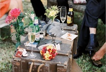 """Vintage Travel / Best of Savannah party to be a true """"tour"""" of the city using travel and old-time Savannah as a main theme. 1920's and 30's vintage travel + glam elements to be used as inspiration."""
