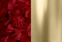 Red + Gold Weddings / Red and gold wedding ideas! From floral and reception, to bridesmaid dresses and wedding invitations!