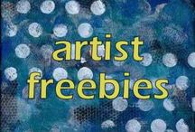 ART: FREEBIES, PATTERNS & PRINTABLES / by Mary Perlow