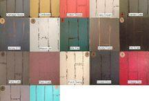 Vintage Color Palettes