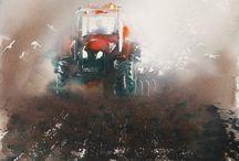 Akvarel: Endre Penovac