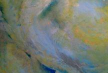 Moje -malarstwo 2 / abstrakcje, vedic art - Emilia Kulczycka
