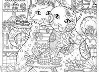 Раскраски / Интересные картинки для раскраски