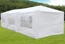 Tent Gazebo Outdoor Garden Big White Waterproof Patio Shade Party Marquee Canopy