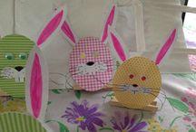 Mes chasses au trésor / Petits lapins œufs et autres figurines en papier pour animer les chasses aux œufs et chasse au trésor