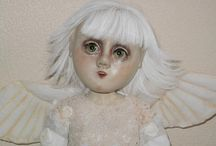 Angels To Watch Over Us - Doll & Craft Creations / I believe in angels and think they are everywhere watching over us.  Here are some of my favorites.