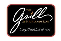 The Grill at Highlands Row /  Local Steak & Seafood Restaurant featuring Sophisticated Southern Cuisine!Owner: The Grill at Highlands Row, LLC Principals: Tom Weiss & Pat McMullan, Gen Mgr/Partner: Chad Barger, Executive Chef: Ron Watkins, Sous Chef: Stephen Gitschlag thegrillathighlandsrow.com