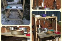 Play spaces / Up cycling play stations