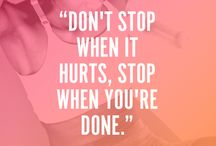 Fitness & health & Quotes / Overall health