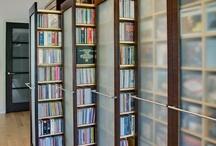 kitaplık + çalışma odası