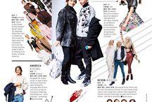 magazine fashion layout