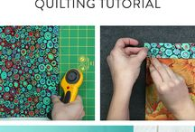 Beginners quilting tutorial.
