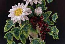 Бисерные цветы