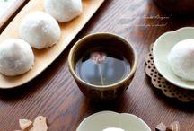 Japanese wagashi & sweets / 日本の和菓子