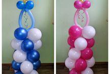 globos para baby shower