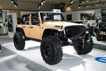 Jeeps, trucks & muscle cars