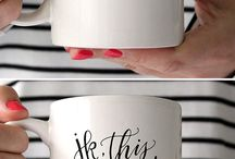No Such Thing as Too Many Coffee Cups / by Erin Lowary