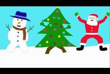 English Christmas songs and videos