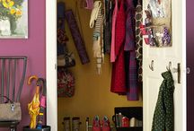 Hall Closets / by Brittany Murphy