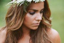 Wianek ślubny // Flower crown, wreath