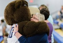 Bear Hugs / Wrap Shawn E. Bear up and give him a hug.  / by Shawnee State University Alumni Association