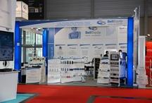 Vienna TEC  2012 / Die BellEquip GmbH als Aussteller auf der Vienna TEC 2012. Conel, Moxa, Effekta, HW group, Ihse, Gude, B&B electronics, IMC Networks, AKCP, AKCess Pro