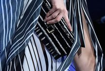 Focus on Monochrome / From Le31 bag camouflaging into striped black and white to playful bubble cuff bracelets,  take a closer look at the Spring Summer 2016 collection details from a monochrome perspective.  / by ELIE SAAB