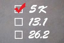 Run Marathon Checklist / Run Marathon and Half Marathon checklists - preparing for the big day.